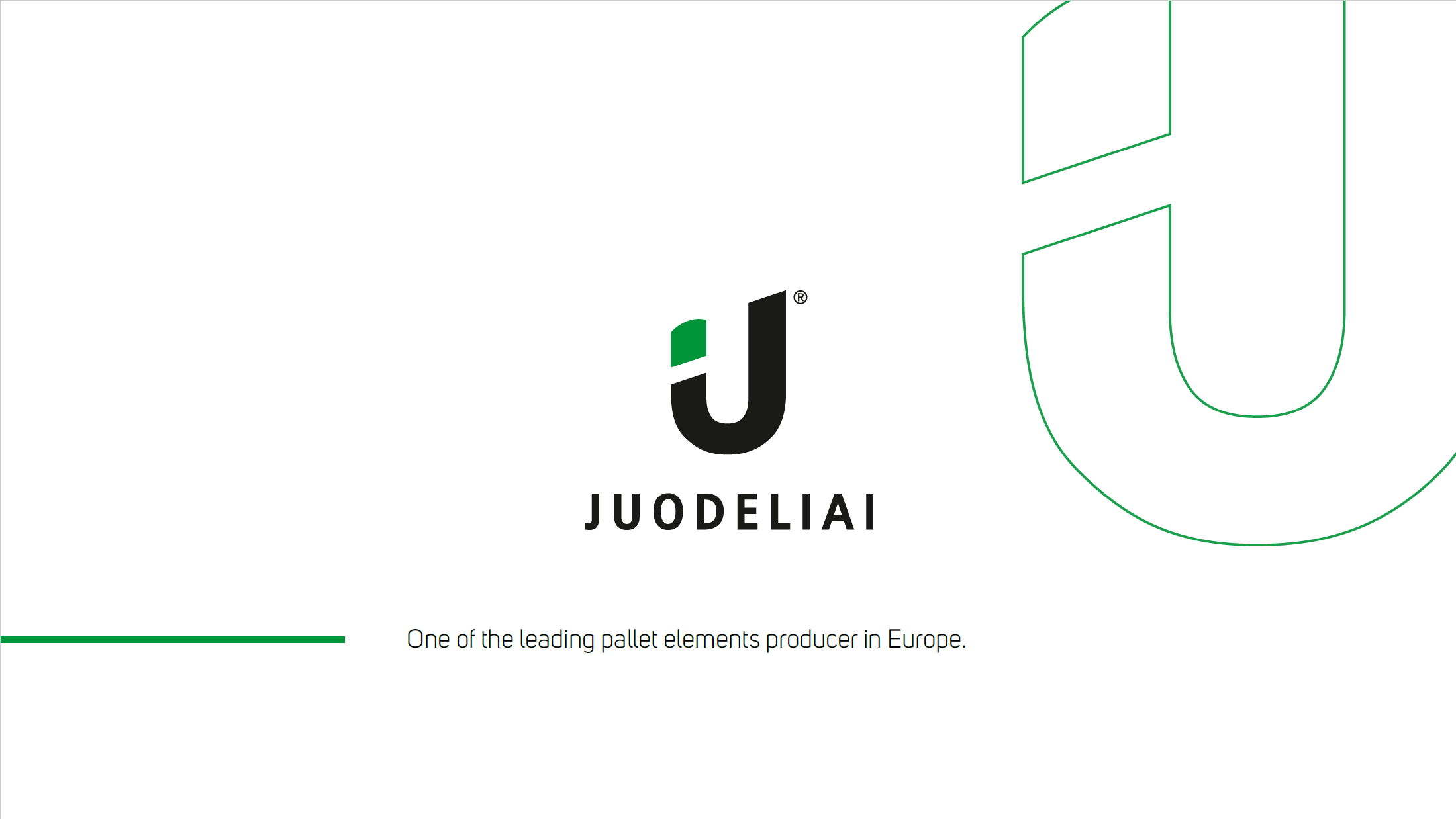 UAB Juodeliai one of the leading wooden pallet elements producer in Europe